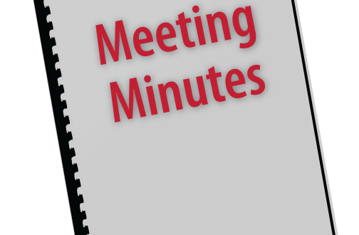 how to meeting minutes